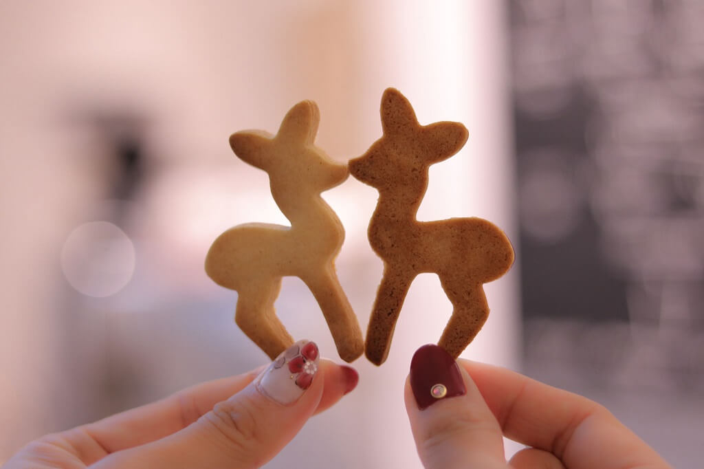 2枚のクッキー